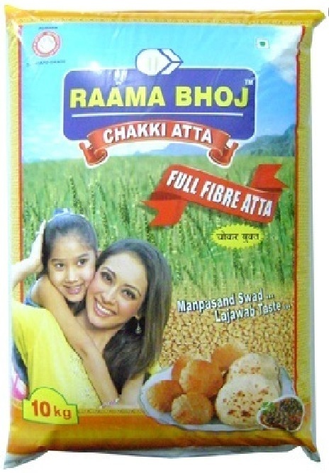Raama Chakki Atta Packaging