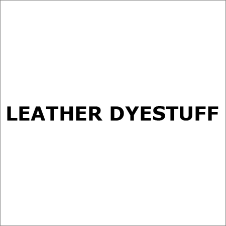 Leather Dyestuff