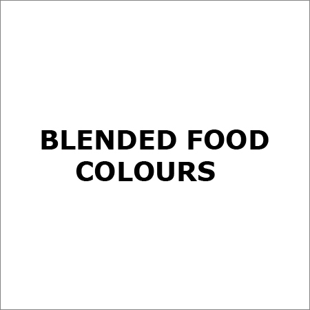 Blended Food Colours