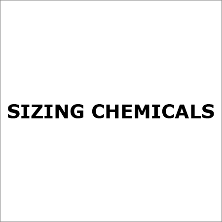 Sizing Chemicals