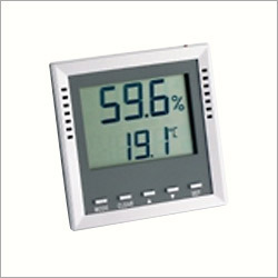 Large Display Thermo-Hygrometer With Burn Proof