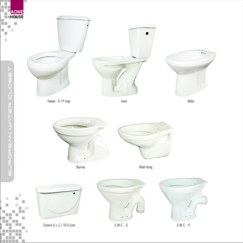 Water Closet and Close Couple Toilet