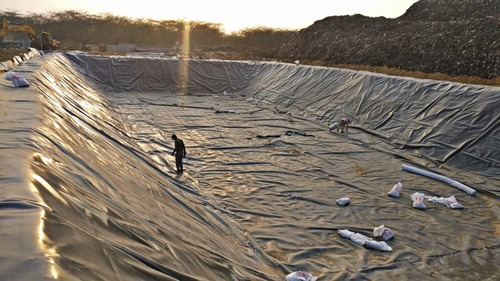 Black Geomembrane Sheets