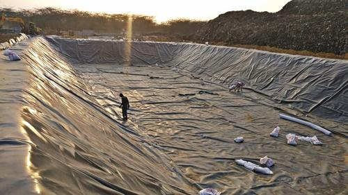 Black Geomembrane Sheets