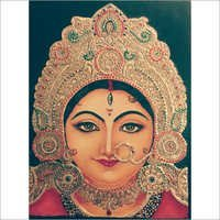 Beautiful Tanjore Painting Tutorial