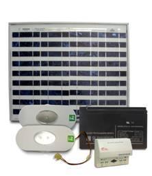 Solar Home Lighting System – LED