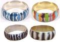 Brass Painted Bracelets