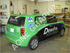 Decorative Vehicle Graphics