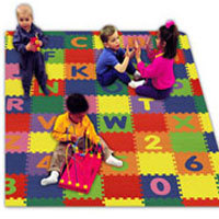 Children Playing Floors