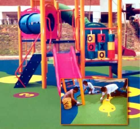 Children Playground Floor