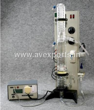 Double Distillation Apparatus