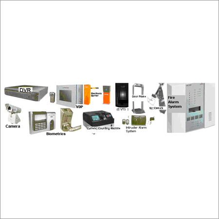 Domestic & Industrial Security System