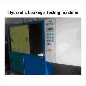 Hydraulic Leakage Testing Machine