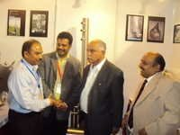 CEO With Chief Minister Of Karnataka