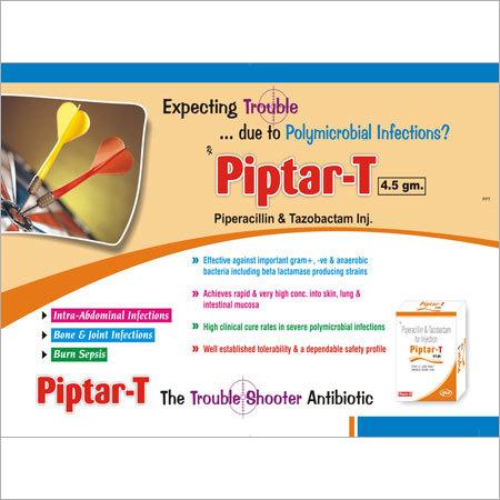 Piperacillin & Tazobactam 4.5 gm Injections