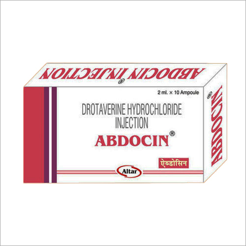 Drotaverine Hydrochloride Injections