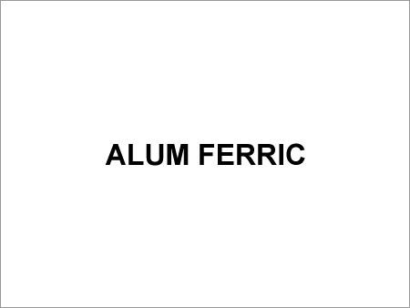 Alum Ferric