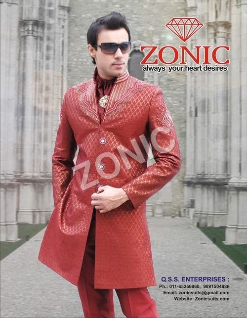 Men Indowestern Suit