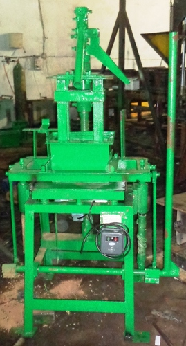 Vibro Press Manual Block Machine