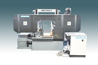 Twin Column type Horizontal Bandsaw Machine