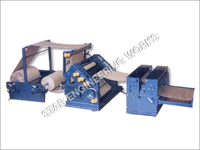 Two Ply Combined Paper Corrugating Board Making