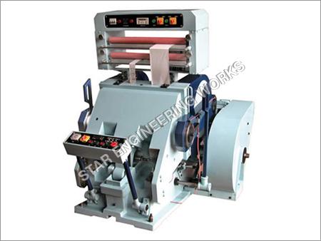 Hot Foil Attachment Die Cutting Machine