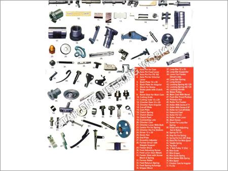 Box Stitching Machine Spare Parts
