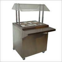 Service Counter With Hot Bain Marie