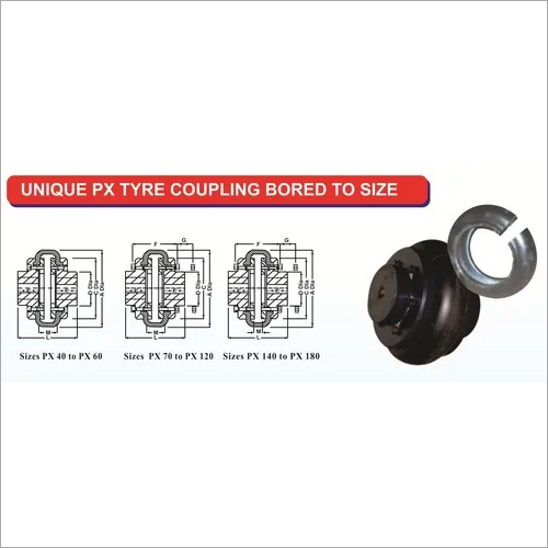 Unique PX Series Tyre Coupling
