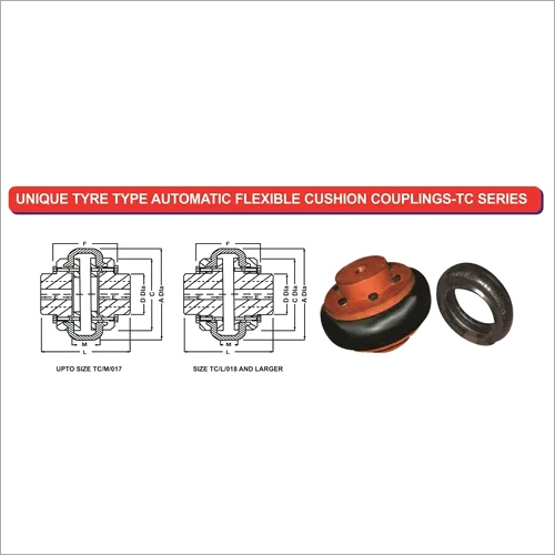 Unique TC Series Tyre Coupling