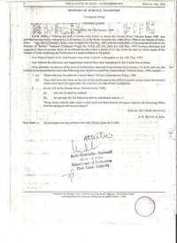 Gazette of India for AUTO- DIPPER