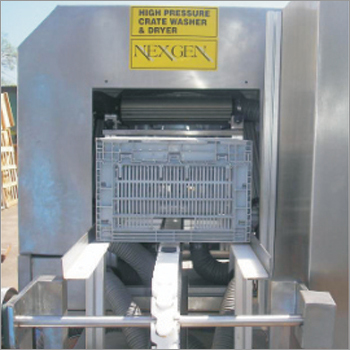 Air knife System Crate Washer