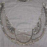 Neck Embroidery Job Work