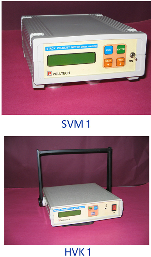 Stack & Duct Velocity Meters