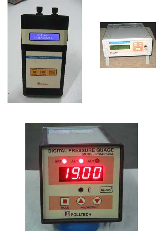 Digital Pressure Instruments