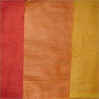 Cotton Silk Strip Fabric