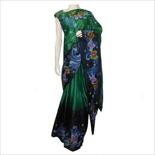 Hand Painting Pure Silk Sarees