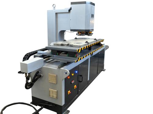 Flange Reveting Machine