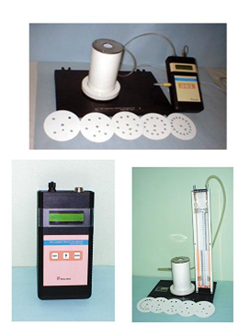 Top Loading Orifice Flow Calibrators