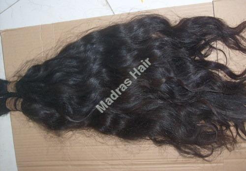 Indian Remy Wavy Bulk Human Hair