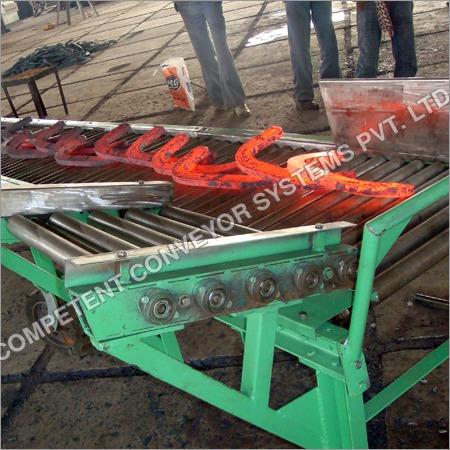 Chain Driven Roller Industrial Conveyor