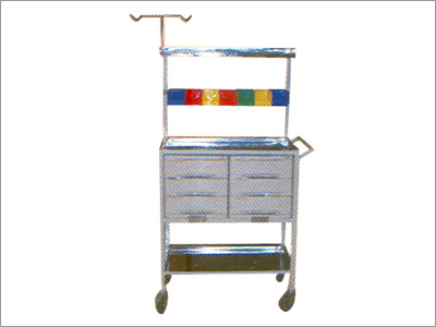 Emergency Trolley - Crash Cart