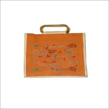 Handmade Jute Beaded Bag