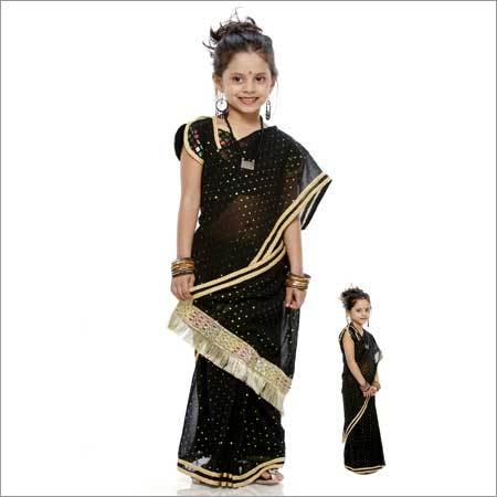 Girls Designer Saree