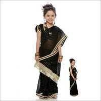 Girls Designer Saree