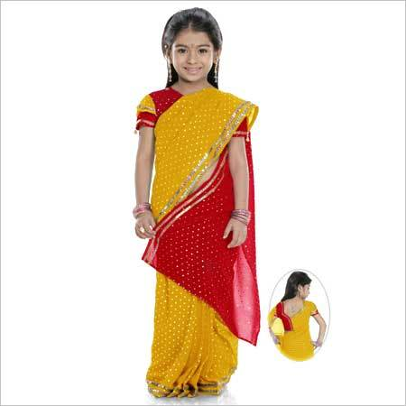 Girls Kutty Sarees