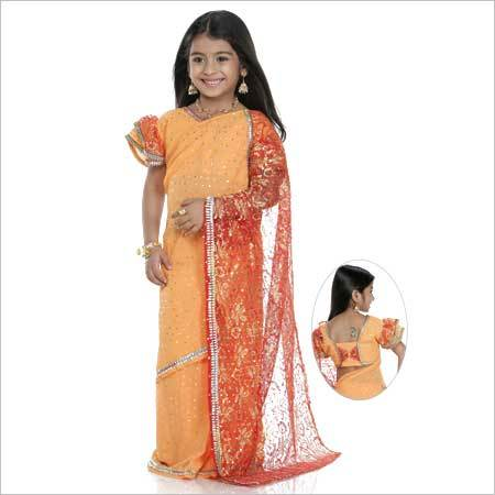 Kids Ready To Wear Saree