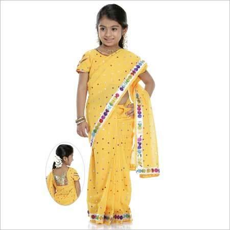 Fashionable Girls Sarees