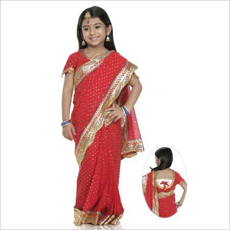 Embroidered Baby Sarees