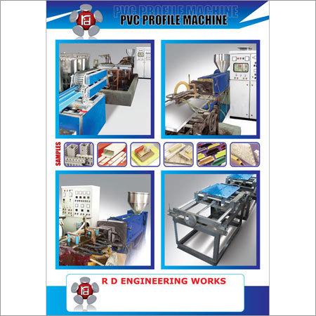 PVC Profile Extruder Machine
